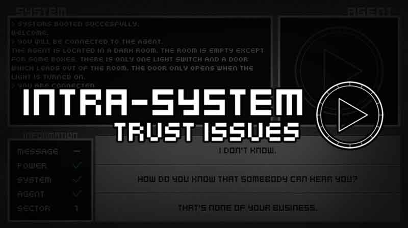 Intra-System: Trust Issues - a game by SmokeSomeFrogs